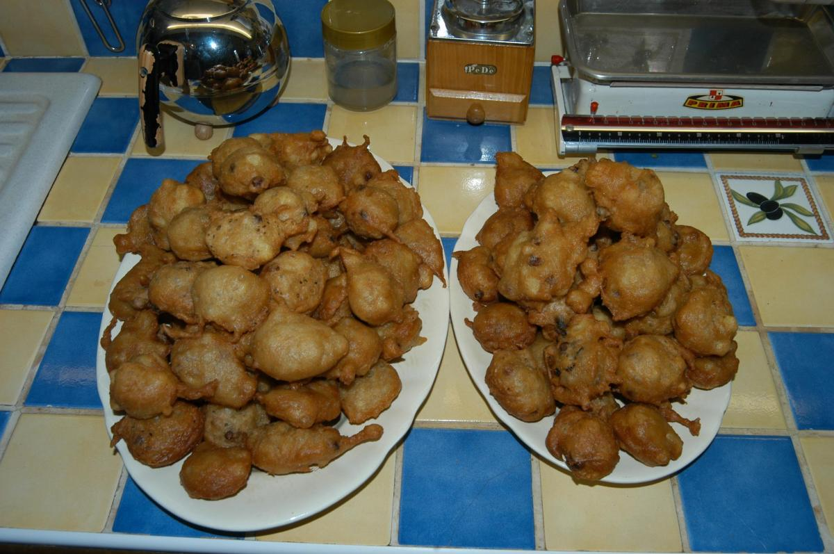 Oliebollen of oesters?