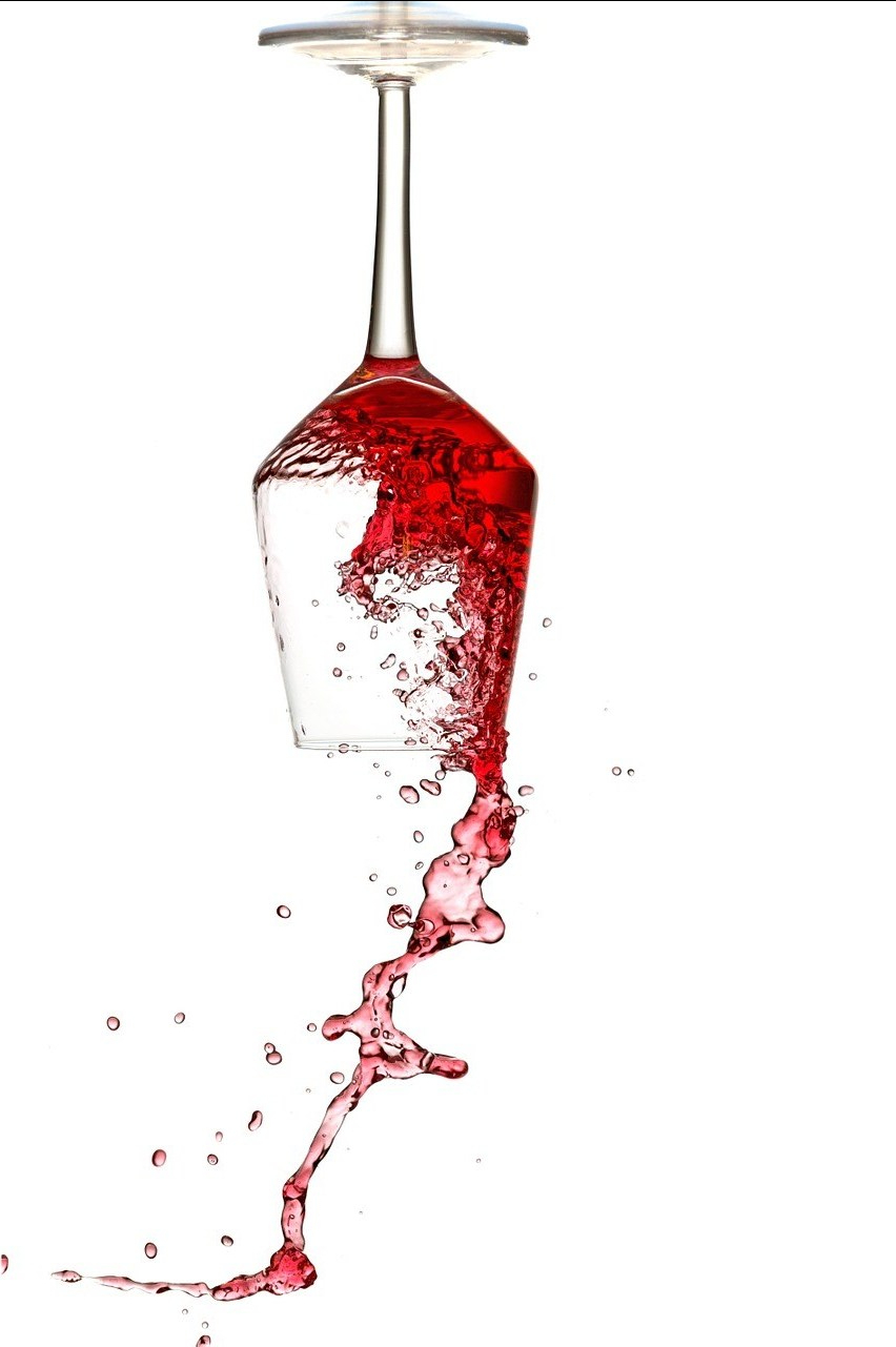 Wijn met pootjes